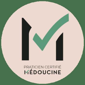 Logo Médoucine hypnose Célia Cukier Issy